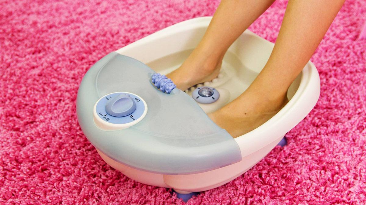 appareil de bain pour les pieds